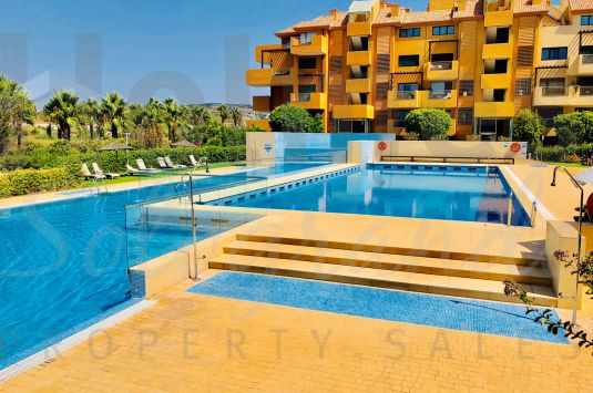 One of the very few 3 bedrooms ground floor apartments available for sale in Ribera del Marlin at a great price.