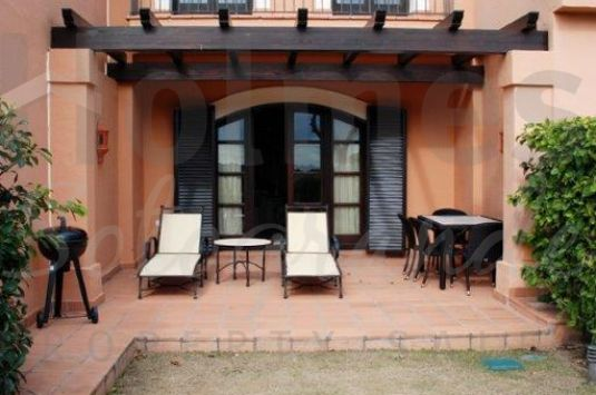 Superb luxury 2 storey Andalusian style townhouse in Cortijos de la Reserva