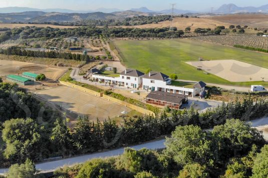 Finca San Rafael equestrian farm is set amongst 13 hectares of grasslands and hills just minutes away from Sotogrande.