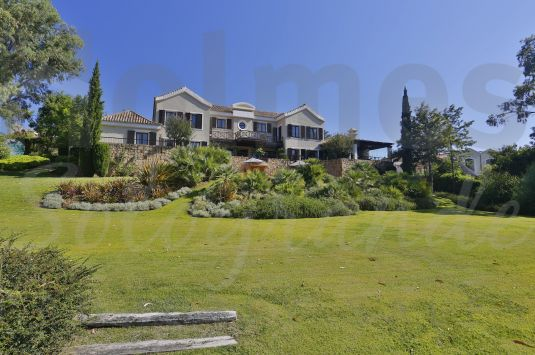 Substantial south facing frontline golf villa overlooking the Almenara and San Roque Golf Courses.
