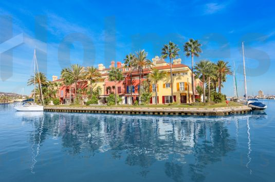 Unique Luxury Waterfront corner house in the heart of the Sotogrande Marina.