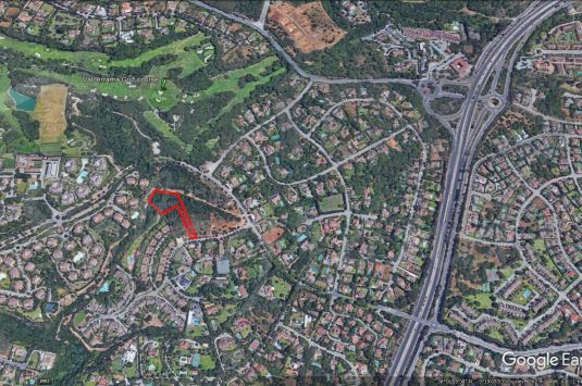 A Sotogrande building plot with full outline planning permission.