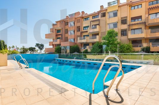 Apartment in Ribera del Marlín with outdoor pools and indoor heated pool, gymnasium and spa