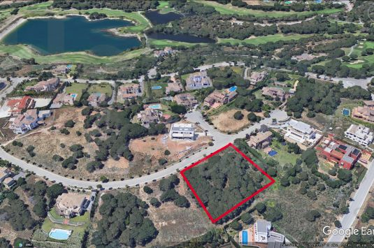 Building plot is situated in the G Zone of Sotogrande Alto