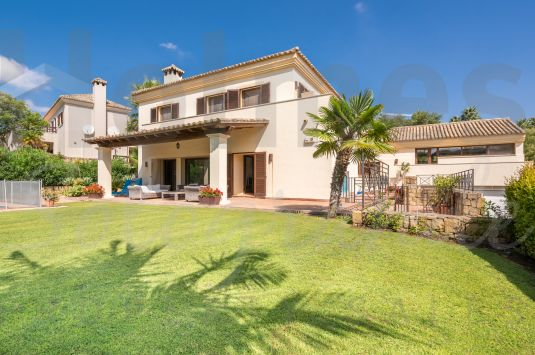 A fabulous 5 bedroom family Villa with a fantastic sunny aspect and very pleasant views in a tranquil setting