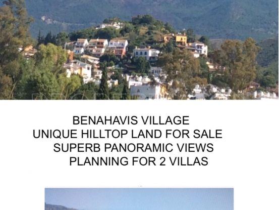 Benahavis Centro plot for sale | FM Properties Realty Group