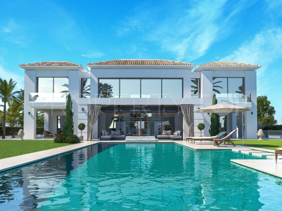 For sale villa with 5 bedrooms in Guadalmina Baja | Bemont Marbella