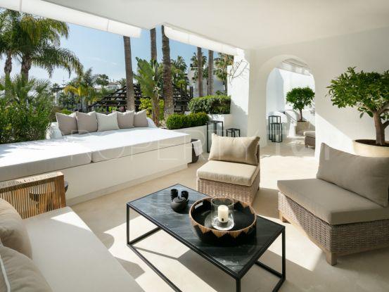Buy Marina de Puente Romano ground floor apartment | Solvilla