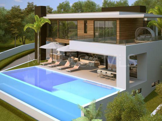 For sale plot in La Alqueria, Benahavis   Solvilla