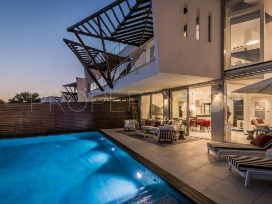 Marbella Golden Mile semi detached house for sale   Solvilla