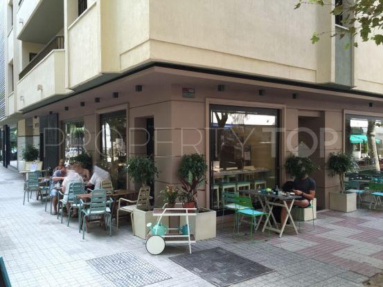 Marbella 1 bedroom restaurant for sale | Marbella Banús