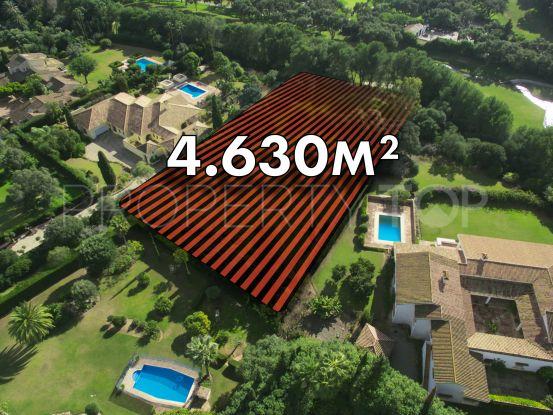 For sale plot in Sotogrande Alto | Consuelo Silva Real Estate