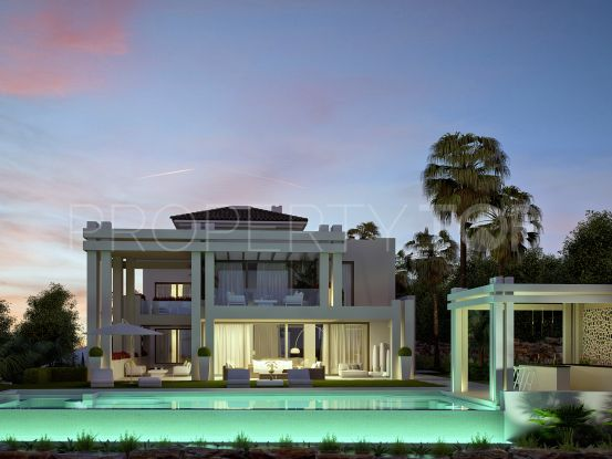 For sale villa in Los Flamingos Golf, Benahavis | Benarroch Real Estate
