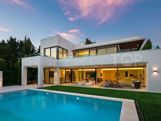 For sale villa with 4 bedrooms in Casasola, Estepona | Benarroch Real Estate