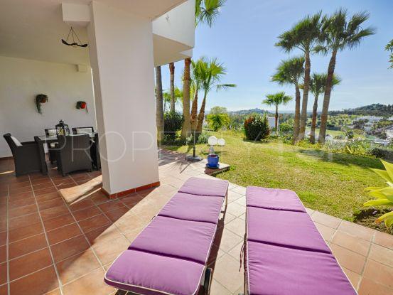 For sale Lomas del Marqués 2 bedrooms ground floor apartment | Benarroch Real Estate