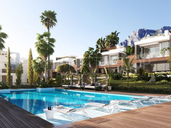 For sale 4 bedrooms semi detached house in Sierra Blanca, Marbella Golden Mile | Nvoga Marbella Realty