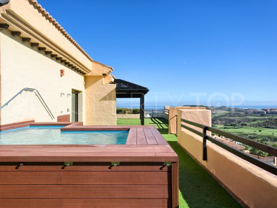 For sale duplex penthouse with 4 bedrooms in Calanova Golf, Mijas | Marbella Hills Homes