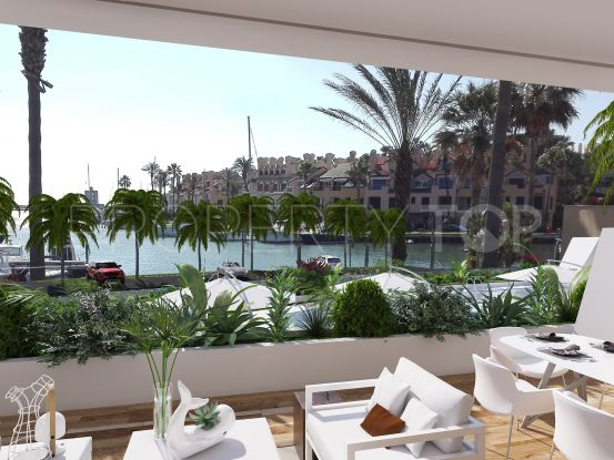 Ground floor apartment for sale in Sotogrande Puerto Deportivo with 2 bedrooms | Marbella Maison