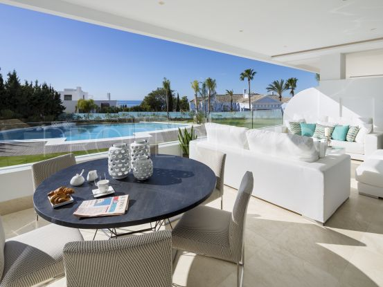 Buy ground floor apartment in Marbella Golden Mile | LibeHomes