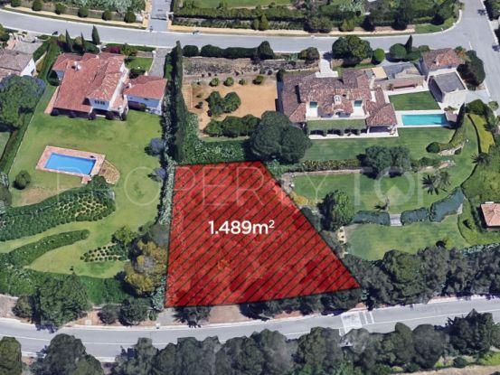 Sotogrande plot for sale | Lucía Pou Properties