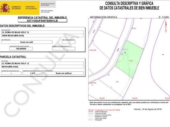 For sale plot in Mijas Costa | Elite Properties Spain