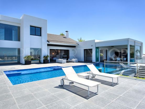 For sale villa with 5 bedrooms in Los Flamingos Golf, Benahavis | Inmo Andalucía