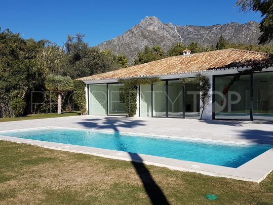 For sale Nagüeles villa with 4 bedrooms | DM Properties