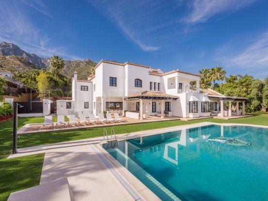 Marbella Golden Mile 9 bedrooms villa for sale | Gilmar Marbella Golden Mile