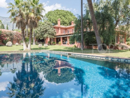 For sale villa in Rocio de Nagüeles | Gilmar Marbella Golden Mile