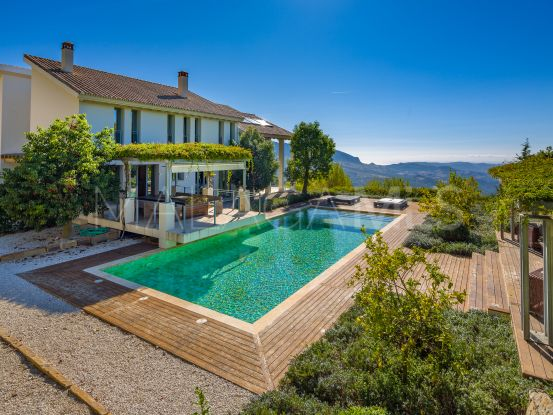 For sale villa in Gaucin with 4 bedrooms | KS Sotheby's International Realty