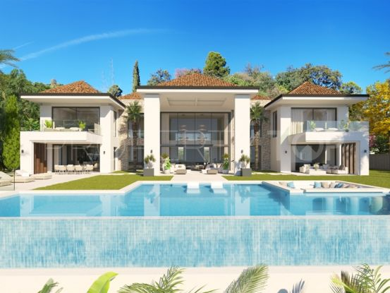 For sale villa in El Madroñal, Benahavis | Engel Völkers Marbella
