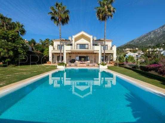 Villa in Marbella Golden Mile for sale   Sierra Blanca Estates