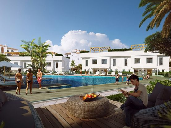 For sale town house in Mijas Costa with 3 bedrooms | Roccabox