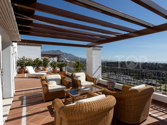 3 bedrooms Los Arqueros penthouse for sale | Rise Estate Marbella