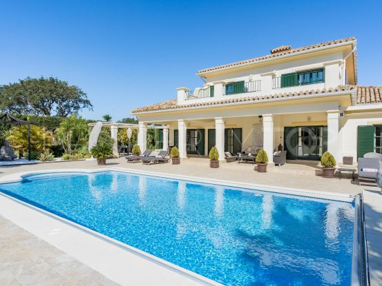 For sale villa in San Roque Club   Selection Med