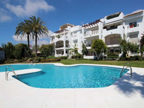 Ground floor apartment with 2 bedrooms for sale in Sun Beach, Estepona | Campomar Real Estate