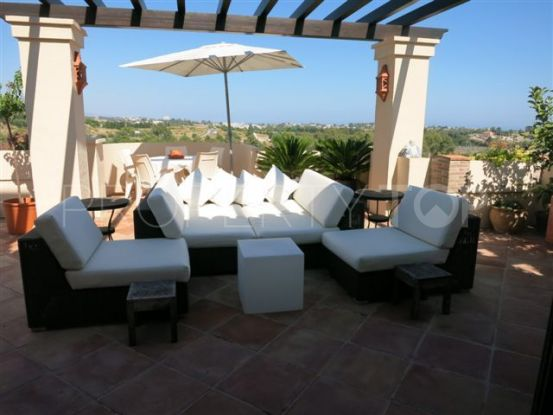 For sale penthouse with 3 bedrooms in Los Capanes del Golf | Nevado Realty Marbella