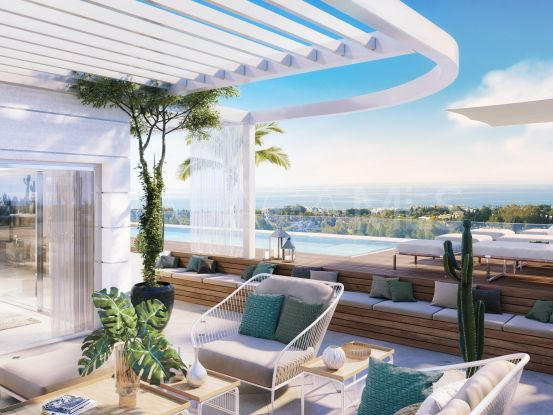 Buy 3 bedrooms penthouse in Marbella Golden Mile | Atrium