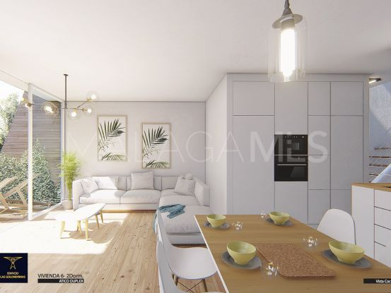For sale La Carihuela duplex penthouse with 2 bedrooms   Serneholt Estate