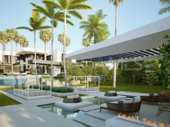 Plot in Marbella Golden Mile with 8 bedrooms | Lucía Pou Properties