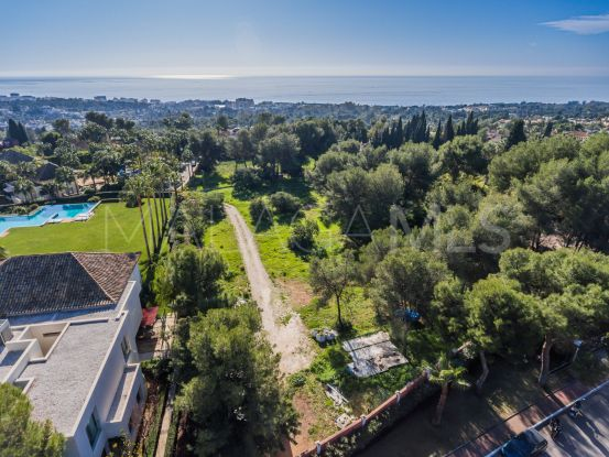 Marbella Golden Mile plot for sale | Lucía Pou Properties