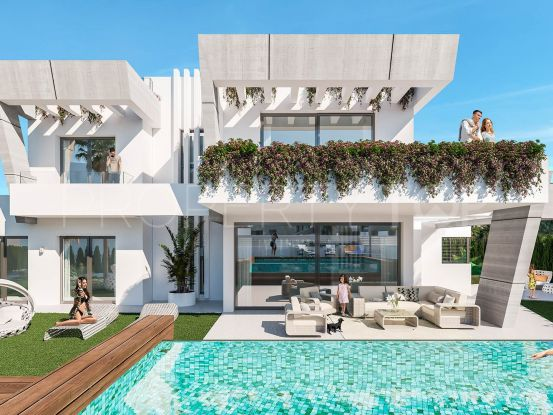Semi detached villa for sale in Marbella Golden Mile   Lucía Pou Properties