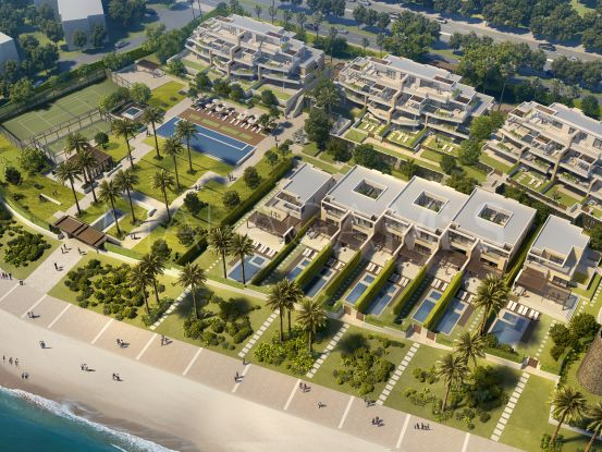 For sale apartment in Beach Side New Golden Mile with 3 bedrooms | Lucía Pou Properties