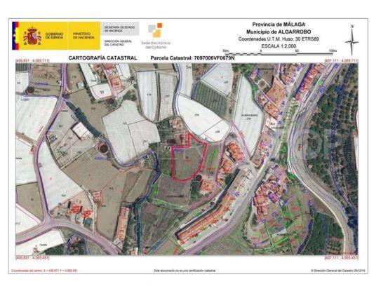 For sale plot in Algarrobo | Keller Williams Marbella