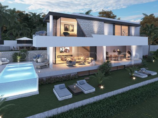 For sale villa in New Golden Mile with 4 bedrooms | Marbella Hills Homes