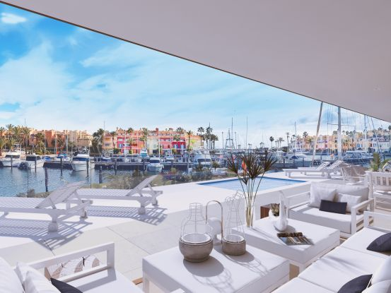 Ground floor apartment for sale in Sotogrande Puerto Deportivo | Real Estate Ivar Dahl