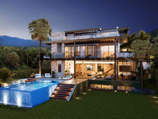 Buy villa with 4 bedrooms in La Alqueria, Benahavis | Key Real Estate
