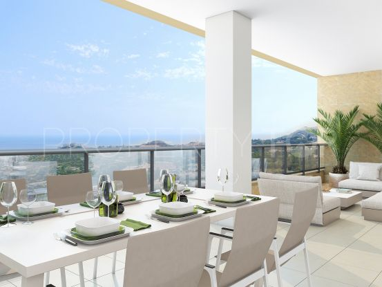 For sale 4 bedrooms penthouse in Benalmadena Pueblo | Key Real Estate