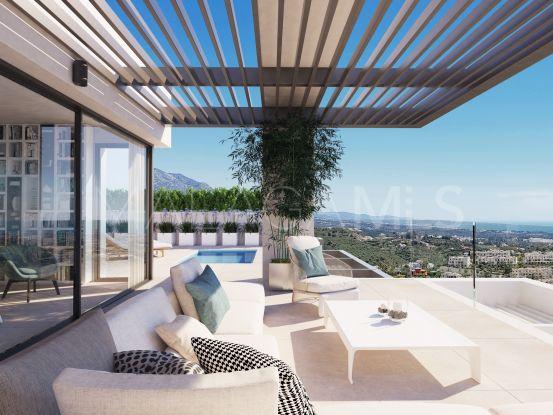 For sale duplex penthouse with 4 bedrooms in La Quinta Golf, Benahavis | Berkshire Hathaway Homeservices Marbella