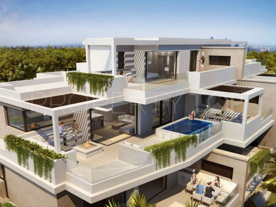 For sale duplex penthouse in Estepona with 3 bedrooms | Panorama